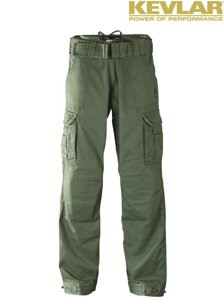 Kalhoty John Doe Regular Cargo Olive with Kevlar ®