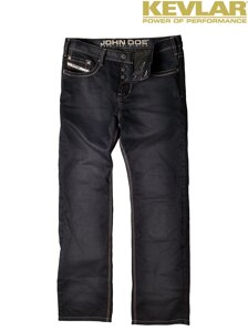 Rifle John Doe Denim Black Jeans with Kevlar ®