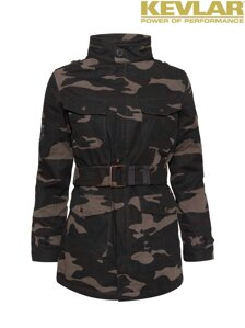 Bunda John Doe Womens Fieldjacket Camou with Kevlar ®