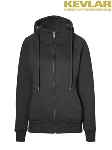 John Doe Womens Hoodie Black with Kevlar ®