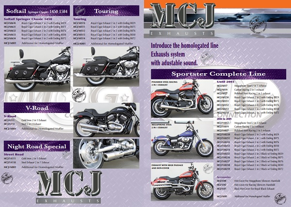 MCJ EXHAUSTS