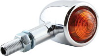 Shin Yo Old School Type 1 Turn Signal, Chrome, E - homologace