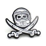 Rusty Butcher pin