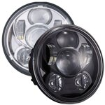 "LED Ⓔ světlo Customsdynamics 5 3/4"" Sportster / Dyna 148900BG3"