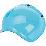 Bubble Plexi Biltwell Blue Solid  Anti-Fog