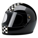 Gringo S Helmet Limited Edition Checker Gloss Black