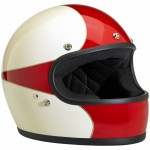 Gringo Helmet Limited Edition Scallop Antique White/Red