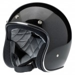 Bonanza Helmet Gloss Black Gold Mini Flake