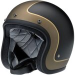 Bonanza Helmet Tracker Flat Black/Grey/Gold