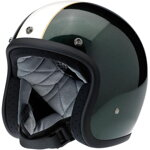 Bonanza Helmet Racer Gloss Green / Cream
