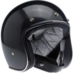 Bonanza Helmet Gloss Midnight Black Mini Flake