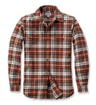 Košile Slim Fit Flannel  Light Brown / Carhartt