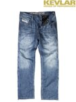 Rifle John Doe Denim Light Blue Jeans with Kevlar ®