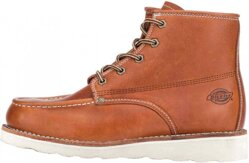DICKIES Illinois Mens 5 Inch Moc Toe Boot Chestnut