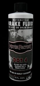 Motor Factory DOT-4 Brake Fluid 240ml / 640090_1