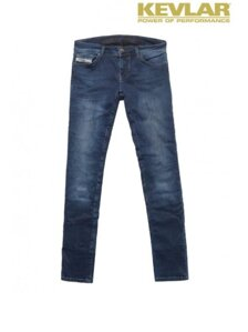 Rifle John Doe Betty Vintage Slim Jeans Indigo with Kevlar ®