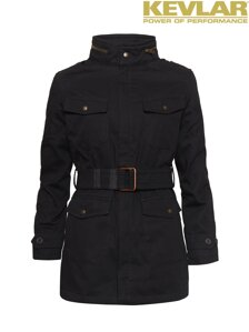 Bunda John Doe Womens Fieldjacket Black with Kevlar ®