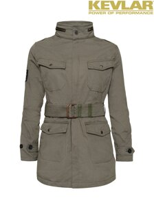 Bunda John Doe Womens Fieldjacket Olive with Kevlar ®