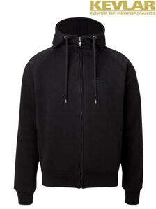 John Doe Mens Hoodie Black with Kevlar ®