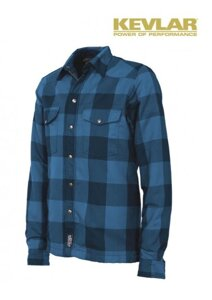Košile John Doe Lumberjack Blue with Kevlar ®