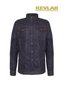 Košile John Doe Lumberjacket Raw Denim with Kevlar ®