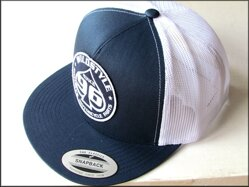 Kšiltovka WS 96 dark - Navy/white Trucker