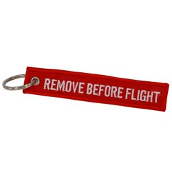 Přívěsek REMOVE BEFORE FLIGHT