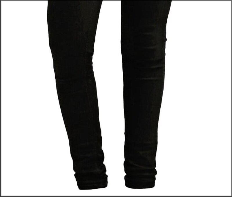 196a7552887 KEVLAR NARROW FIT JEANS kalhoty černé